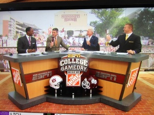 GameDay ringing the cowbell