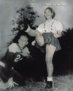 First Female American football player and kicker
