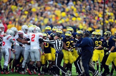 Michigan vs Ohio State brawl